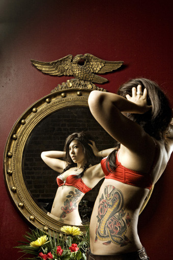 Mo Coppoletta, tatoo artist