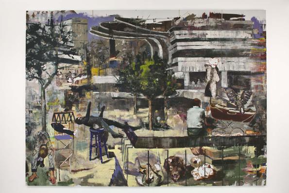 Romanian Art in London, Marius Bercea