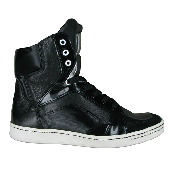 monderer high top trainers