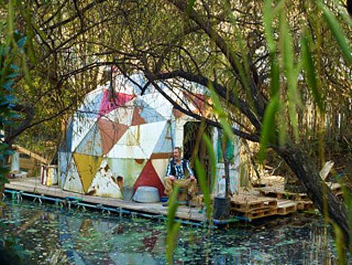 Alex Hartley: London Art Show - The World is Still Big