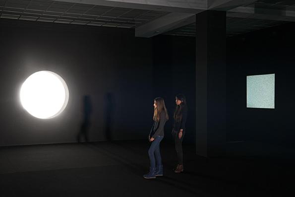 Japanese artist Ryoji Ikeda, Berlin's Hamburger Bahnhof museum