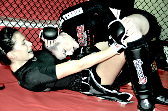 The Contender: Thai Kick Boxing Fashion Shoot by Leonardo V
