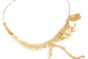 tatty devine dinosaur necklace