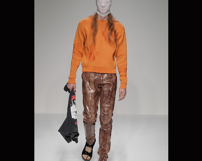Martine Rose present SS13 at London Collections Men