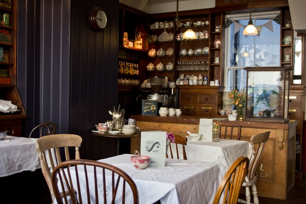Blackbird Tea Rooms: A Little Piece of Home in Brighton cafe review