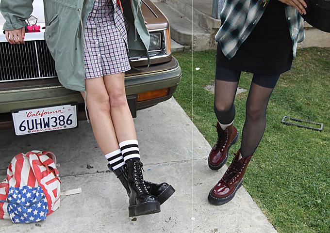 Agyness deyn, dr martens, fashion collection