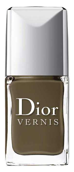 dior jungle camouflage nail coour