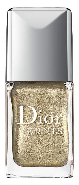 dior jungle gold nail coour