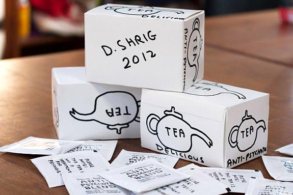 David Shrigley Tea