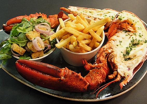 steak and lobster manchester at Radisson Blu