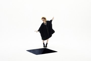 Fashion Editorial by Yosuke Demukai: tunic ODEUR, second tunic MARIOS, earrings and necklace SHOUROUK, shoes FOSSIL vintage