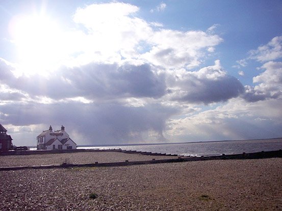 winter in whitstable