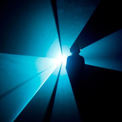 hayward gallery light show, alvin lucier