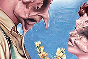 Nathan James and his Circus of Creeps: Perverts, John Wayne and Mickey Mouse