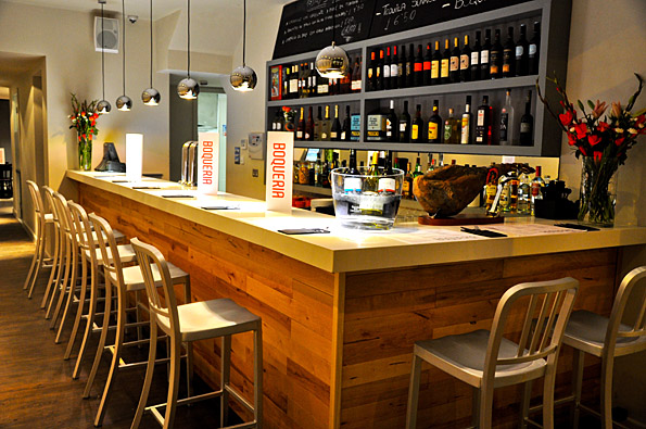 boqueria in Brixton, tapas restaurant london