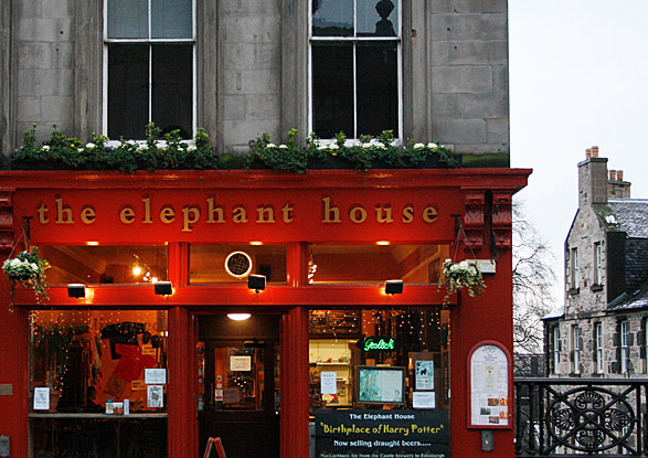 Elephant House Edinburgh revisited - J K Rowling and Coffee Shops