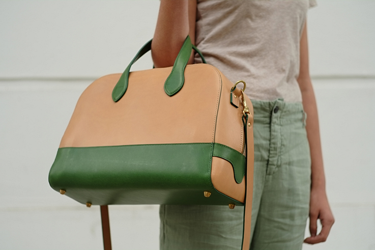 M Hulot leather bags