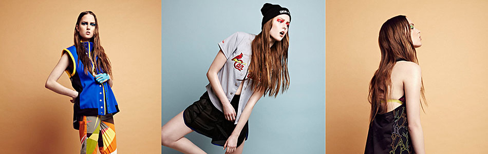 Lively Up: Sports Fashion Photography by Amy Barton