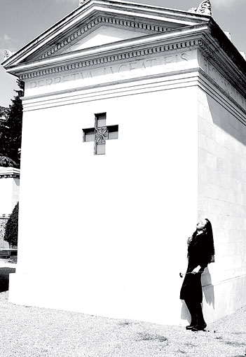 Eternity: Death inspired fashion by Leornardo V