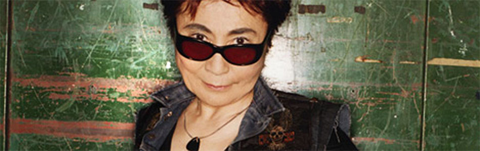 Yoko Ono wants you to send her your smile - be part of the show