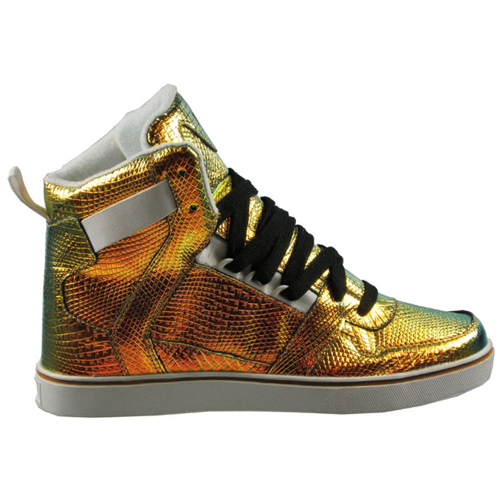 nat-2 cube, metallic trainers by Munich brand