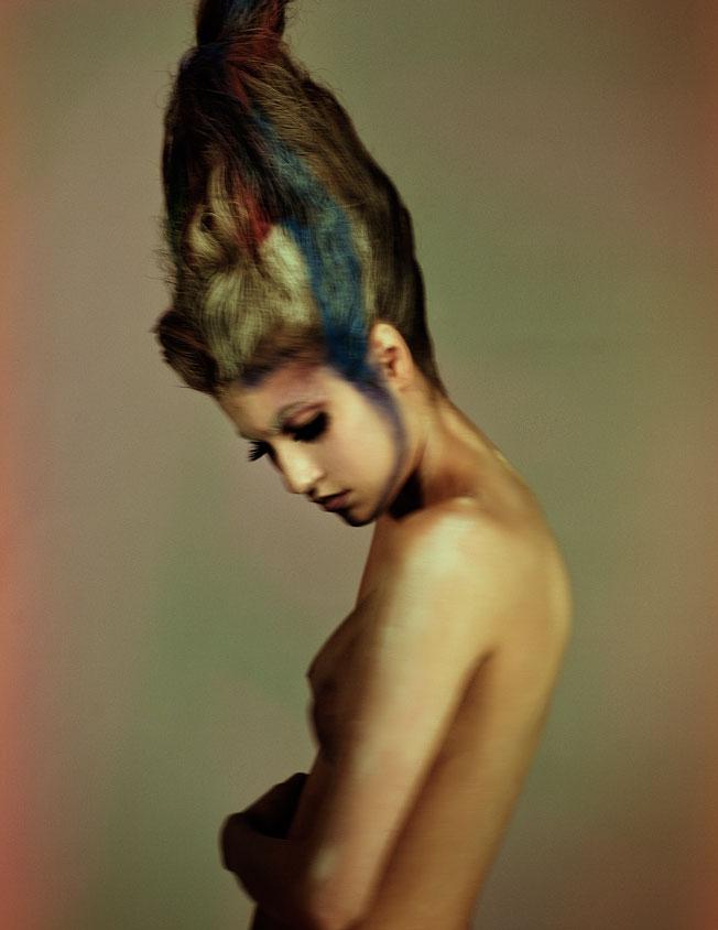 Yuji Watanabe, hair artist, beauty photography