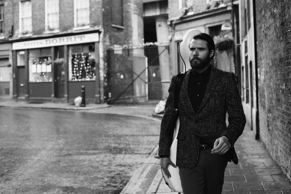 jacket Baartmans and Siegel, shirt Ben Sherman, trousers Beyond Retro, belt stylist's own
