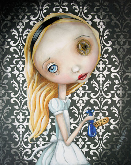 princess culture, art by Michele Lynch
