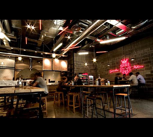 Pizza Union, London, Spitalfields, pizza restaurant