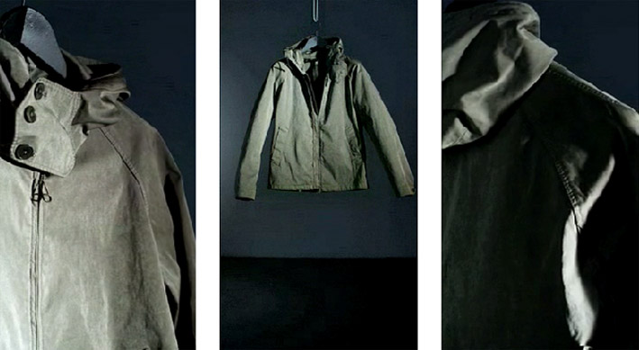 Ten c anorak, mens outerwear label