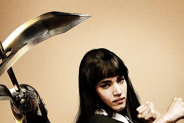 Kingsman: The Secret Service - Interview with Sofia Boutella