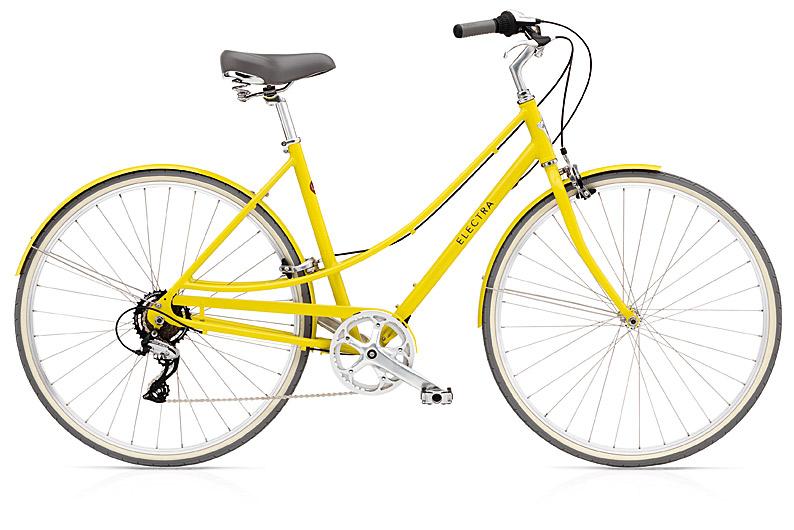 Electra Bike Ladies' LOFT in Citrine