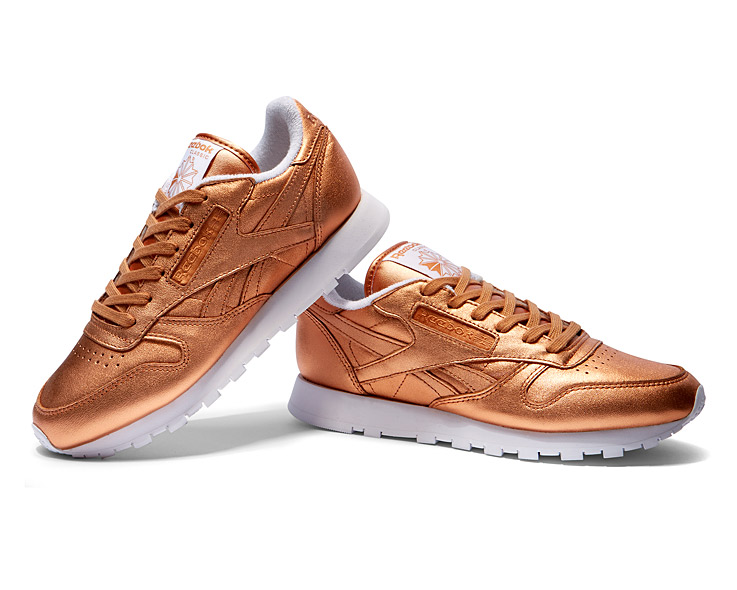 Reebok Classic x FACE Stockholm Copper Metallic