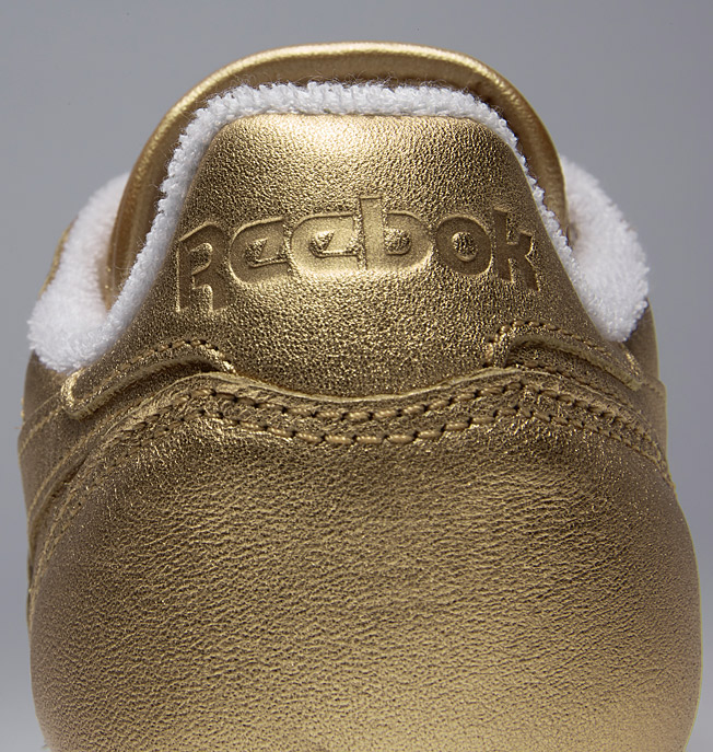 Reebok Classic x FACE Stockholm Gold Metallic