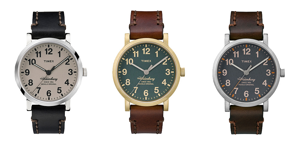 Timex watches: Waterbury Collection