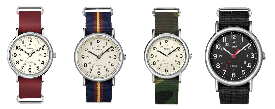Timex watches: Weekender Collection