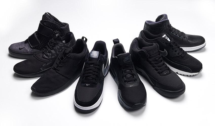 Nike-Black-trainers-foot-locker – Flux