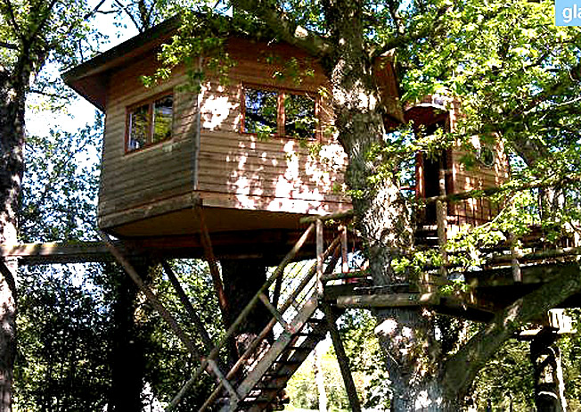 extraordinary places to stay - tree house