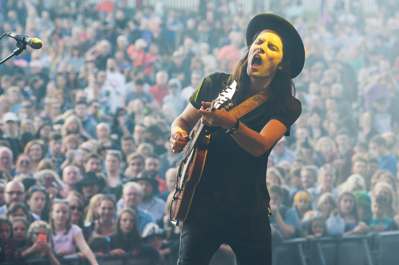 James Bay at Festival No 6