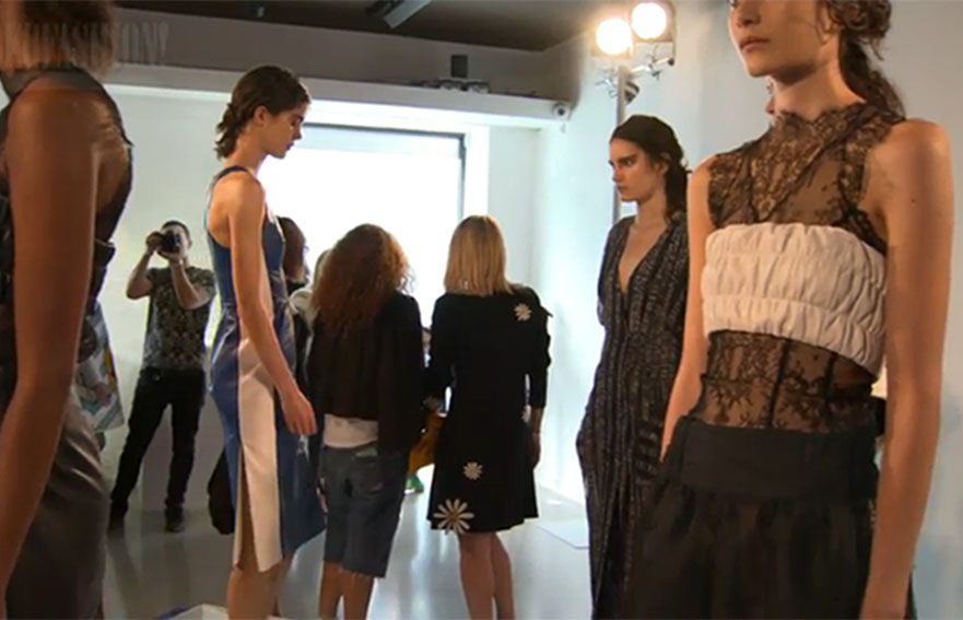 london fashion week videos