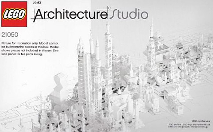 LEGO for adults? – LEGO Architecture Studio is released – Flux ...