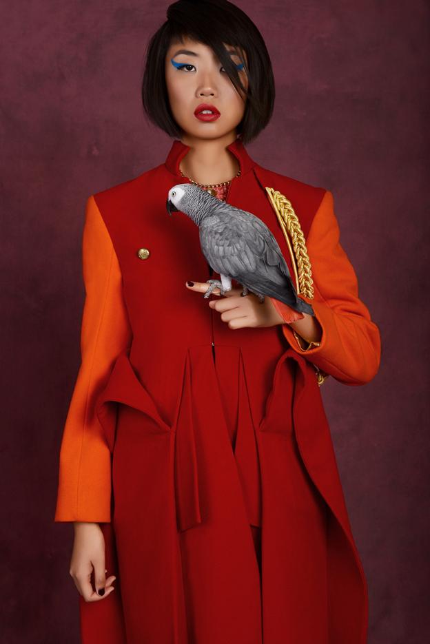 creative fashion editorial