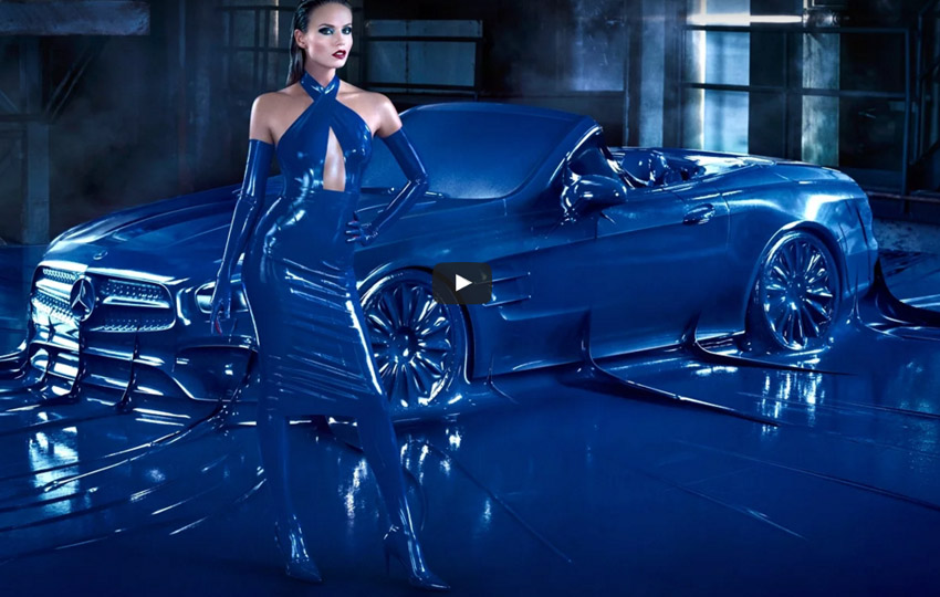 mercedes benz fashion week campaign, Jeff Bark