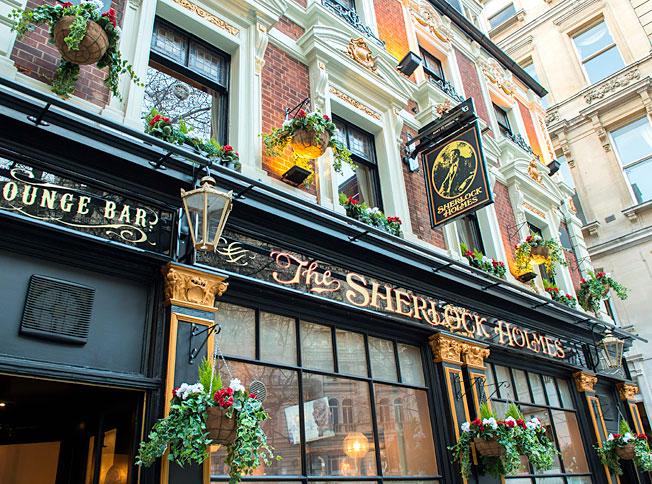 The Sherlock Holmes Pub London
