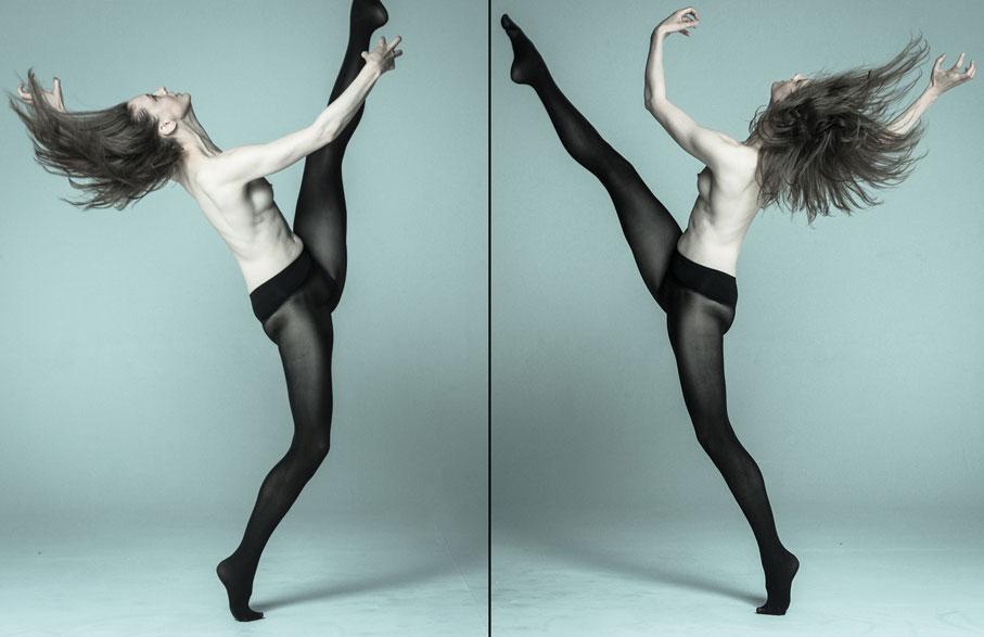 heist womens black tights