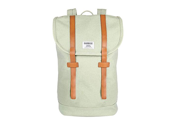Sandqvist 'Stig' backpack in Sage Green