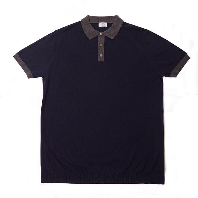 mr quinntessential cashmere polo shirt