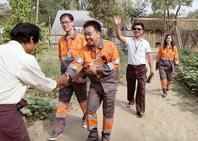 China meets Myanmar