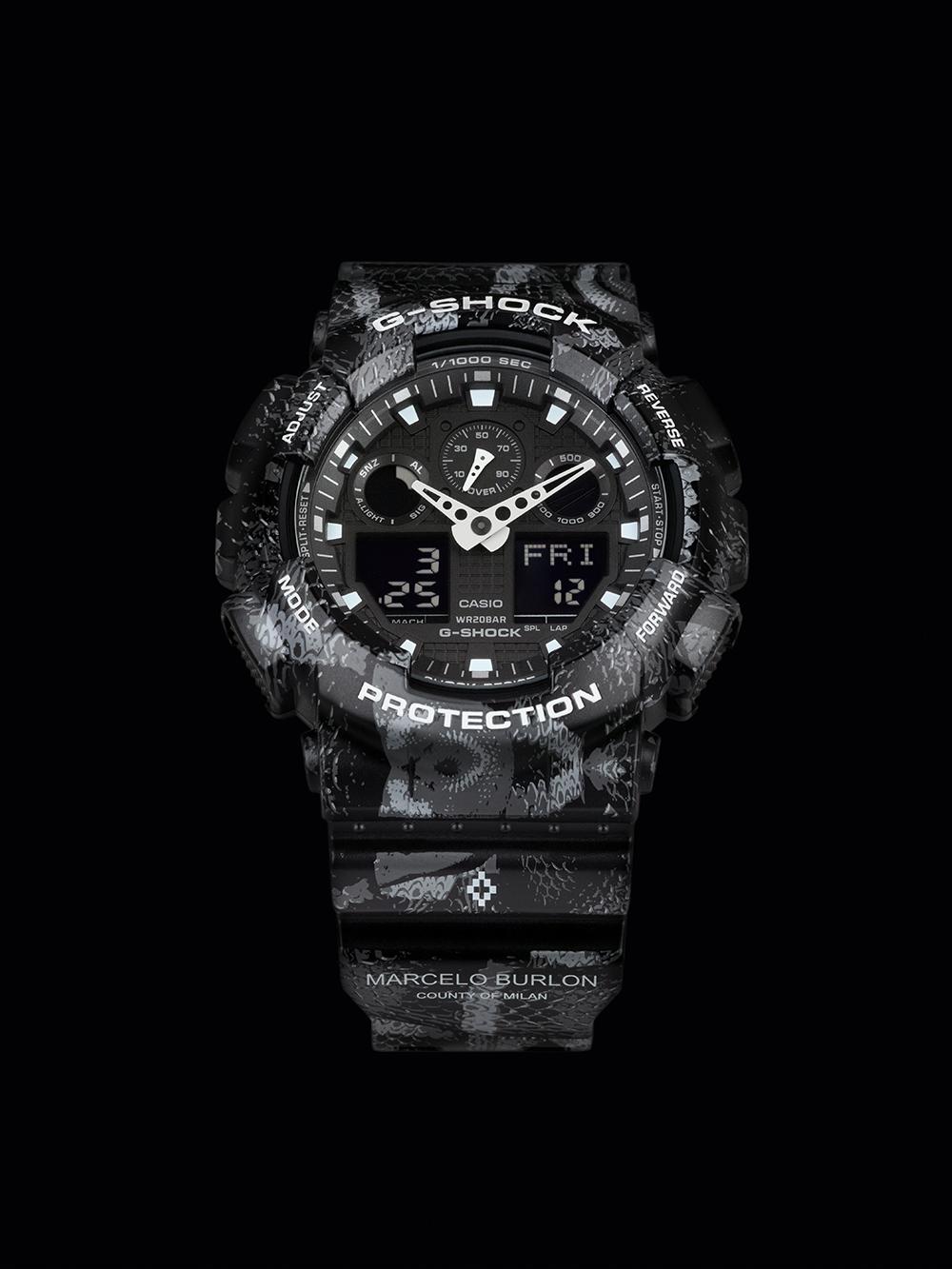 G-Shock, Marcelo Burlon, watch