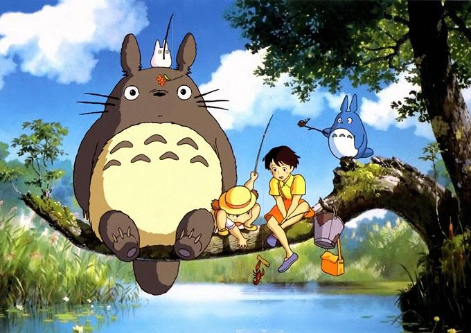 Japanese anime on British TV